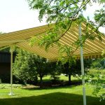 RETRACTABLE AWNINGS, FABRIC CANOPY